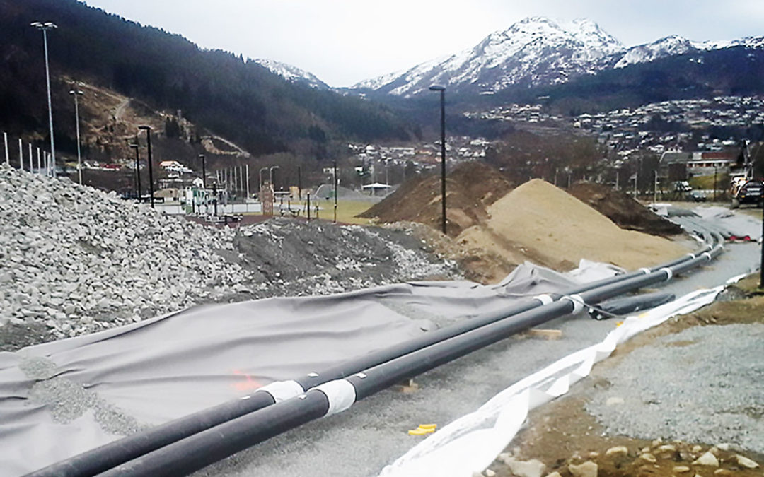 isoplus supplies pipes to a major project in Norway