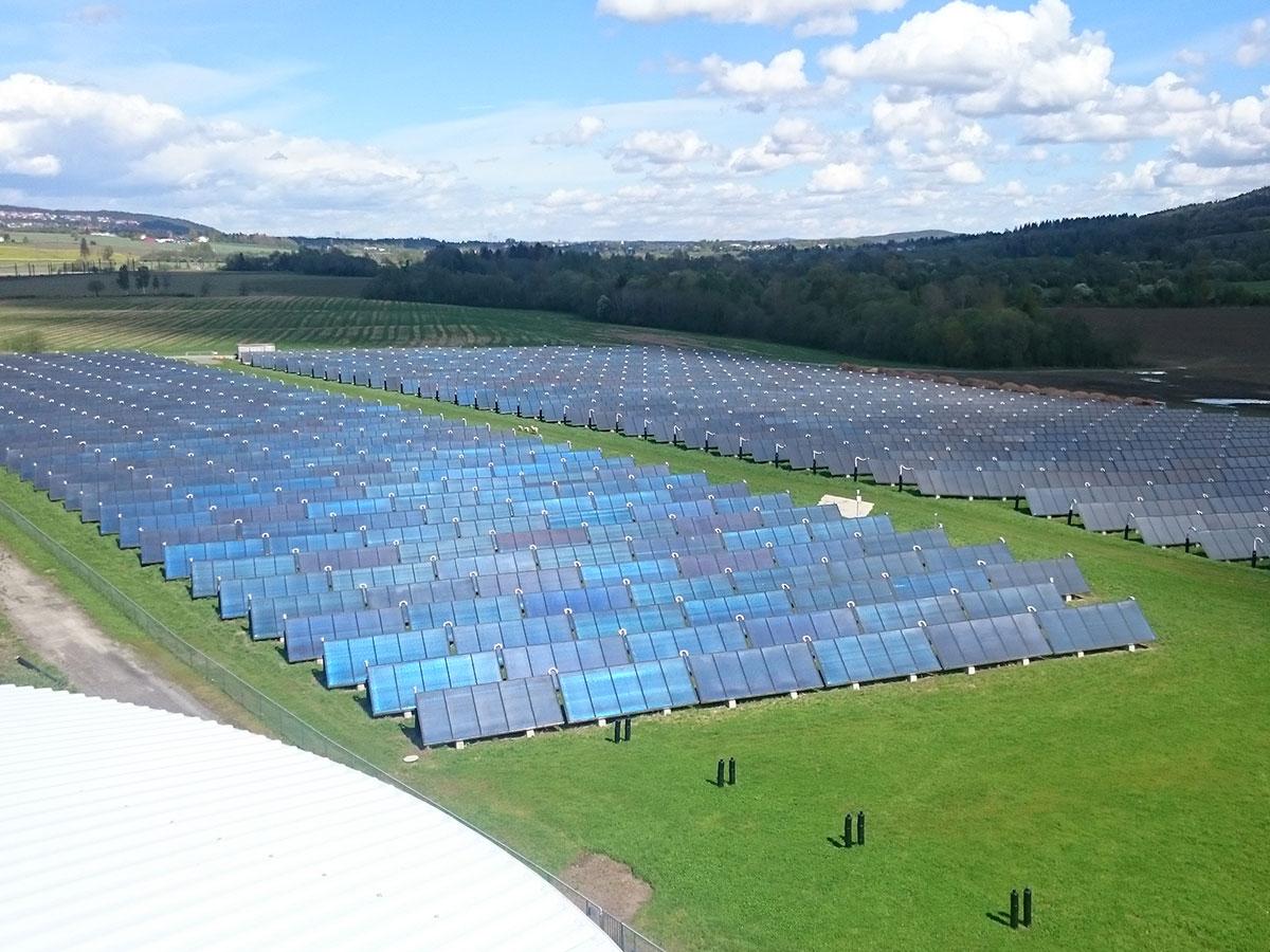 Solcelleanlæg i Lillestrøm.