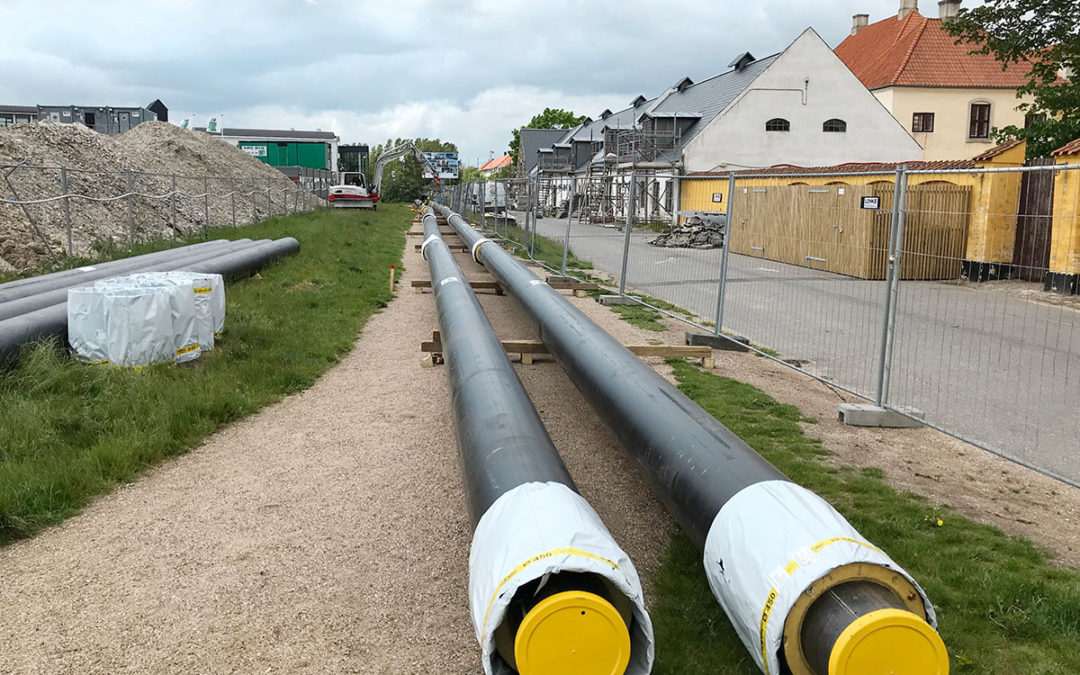 Innovative project with new energy station in Tårnby