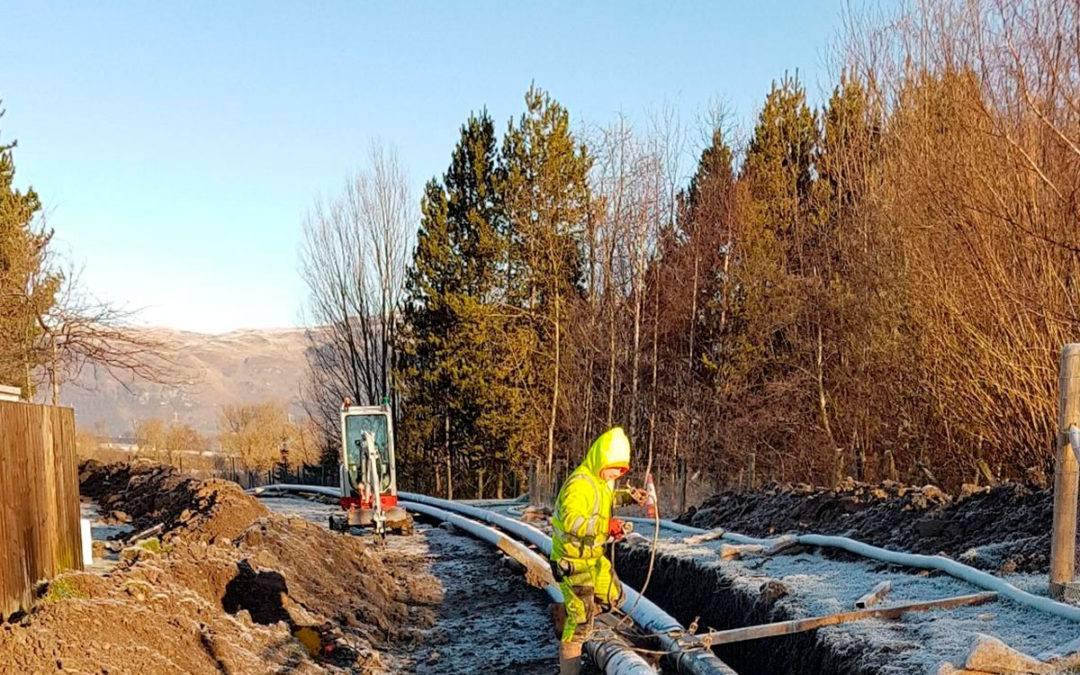 Pionerprojekt i Stirling – Spildevand bliver til varme