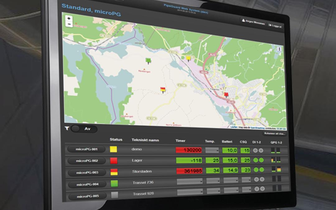 isoplus lancerer nyt alarmsystem i samarbejde med Pipeguard